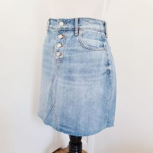 Old Navy Skirts - Old Navy High-waisted Light Denim Wash Skirt